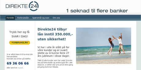 Direkte24 screenshot