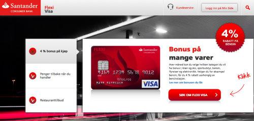 Flexi Visa screenshot