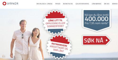Online24 screenshot
