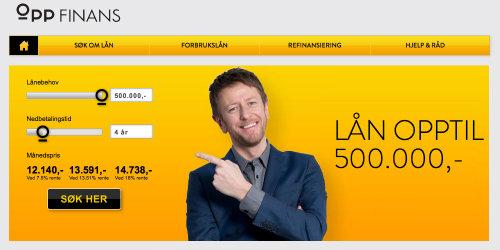 OPP Finans screenshot