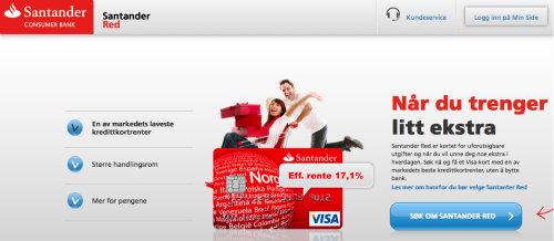 Santander Red screenshot