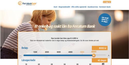 Ferratum screenshot