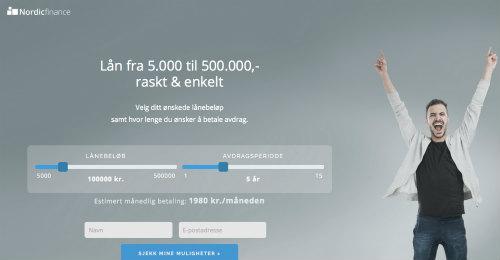 NordicFinance screenshot