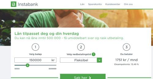 InstaBank screenshot