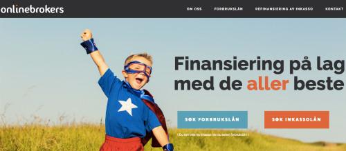 Onlinebrokers.no screenshot