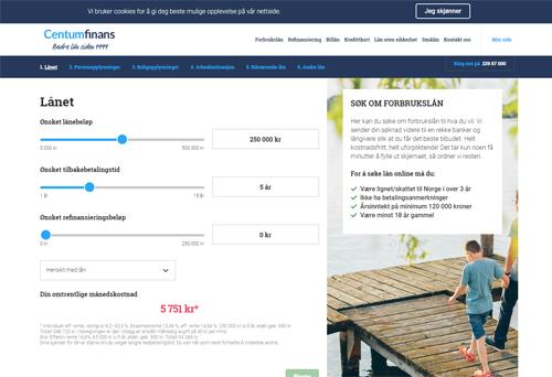 Centum Finans screenshot
