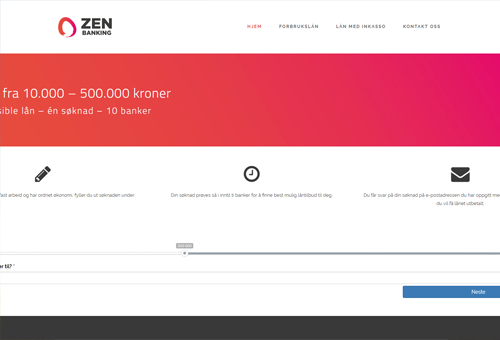 Zen Banking screenshot