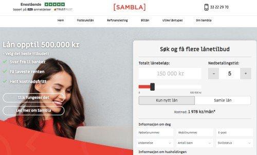 Sambla screenshot