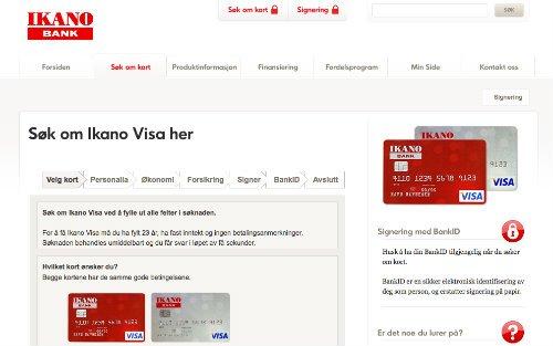 Ikano Visa screenshot