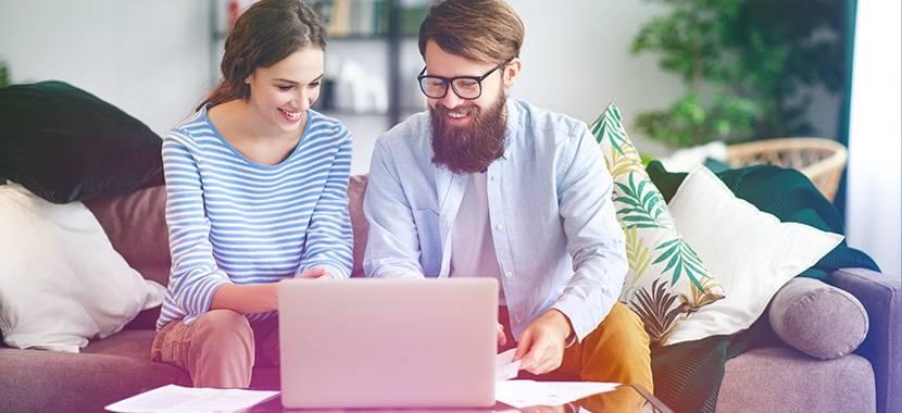 Eksempel: Folk som søker om et online lån med BankID
